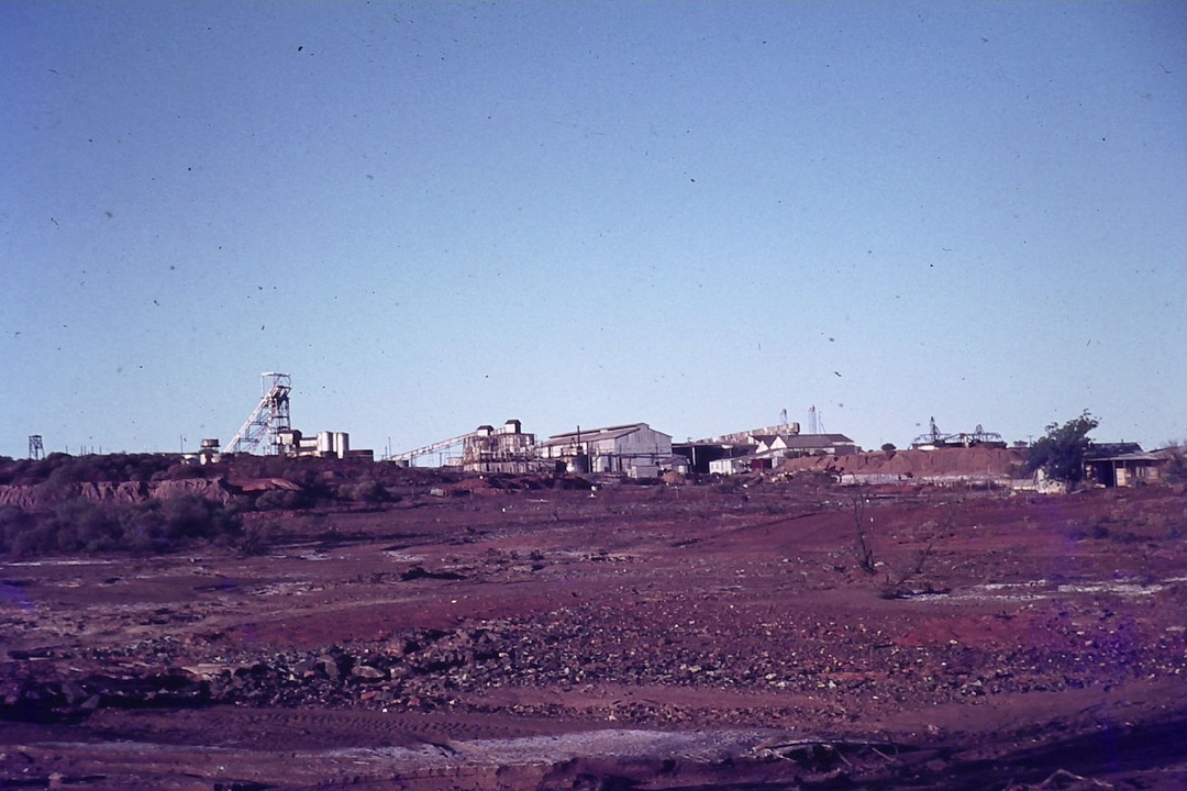 Mining site - historical